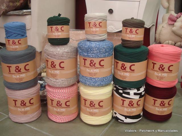 Bobinas de Trapillo nuevos colores lisos y estampados