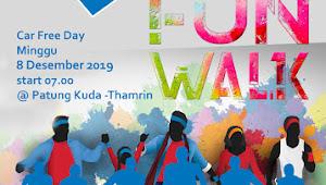 Funwalk CAAIP Tanggal 8 Desember 2019