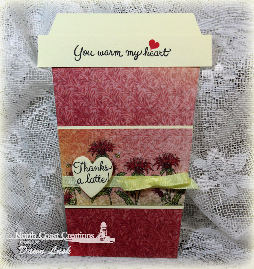 Stamps - North Coast Creations Warm My Heart, Our Daily Bread Designs Blooming Garden Paper Collection, ODBD Custom Ornate Hearts Dies
