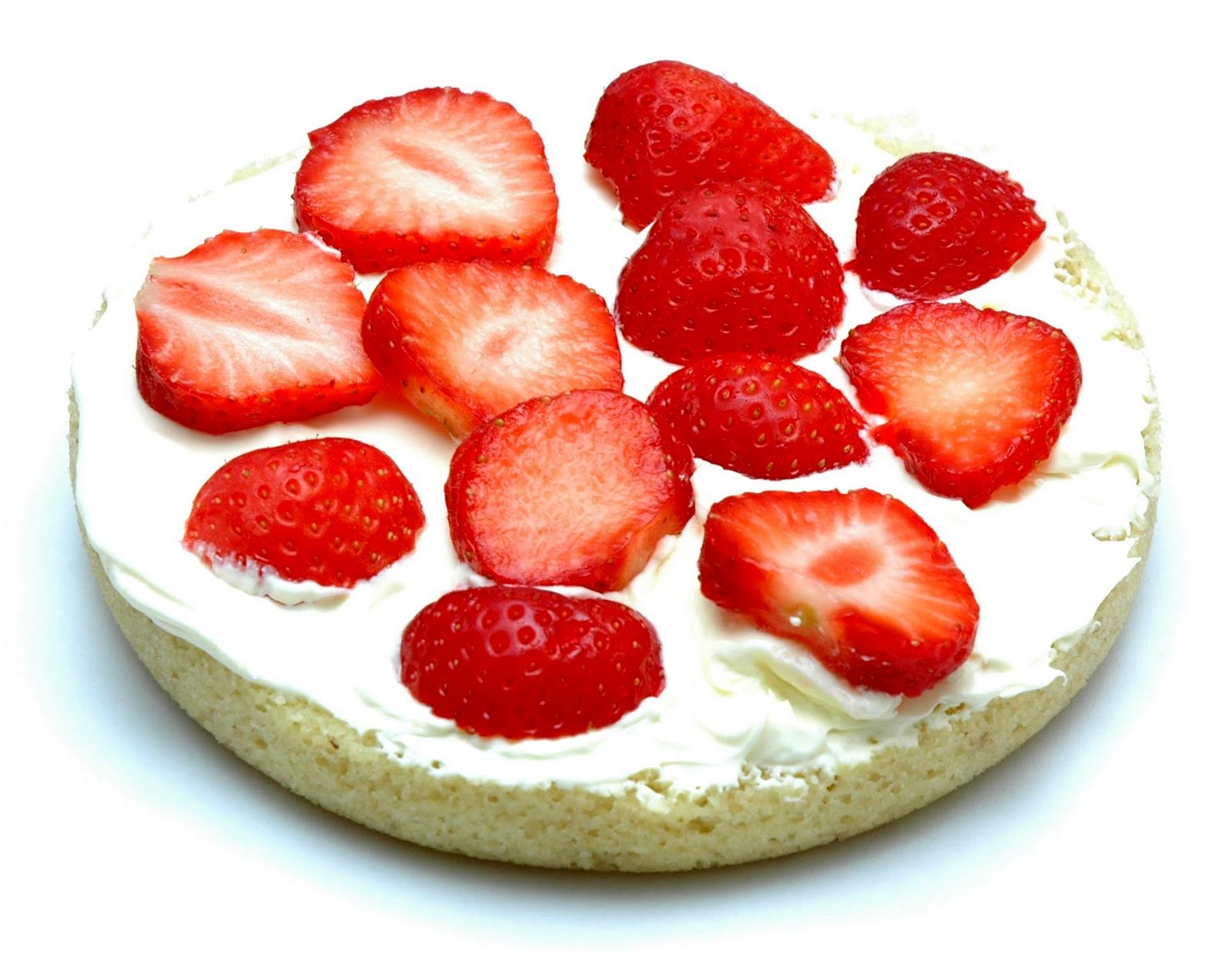 The Low Carb Diabetic Strawberry Sponge Cake