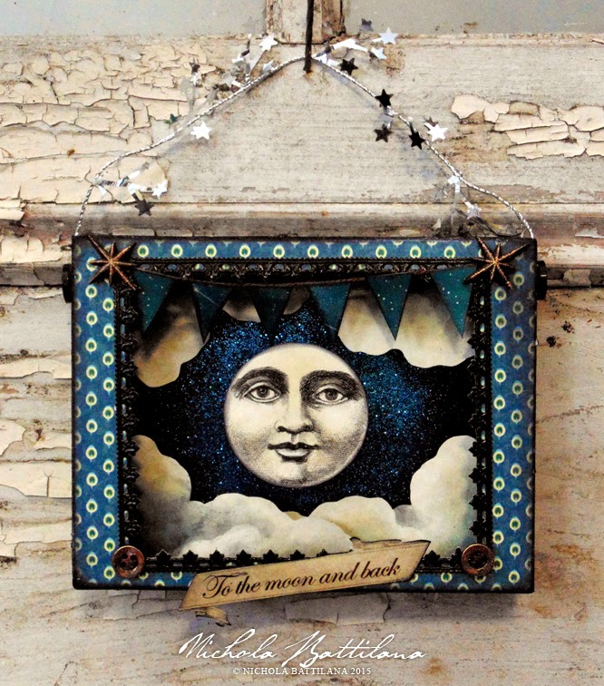 Paper Moon Srine box with video tute - Nichola Battilana