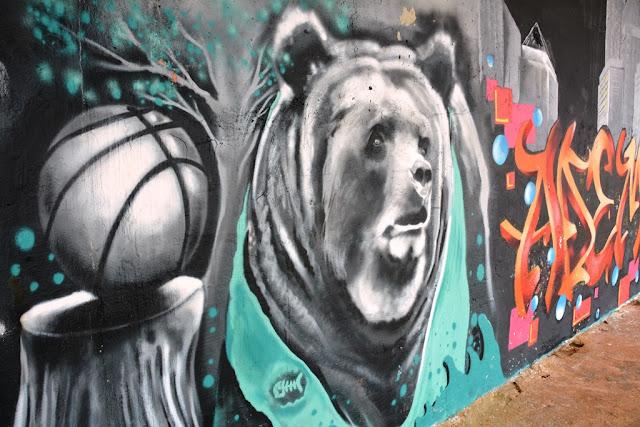 Graffiti St. Julians bear