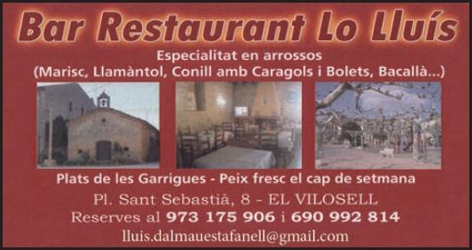 Restaurant Lo Lluís