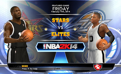 NBA 2K14 Rookie Stars vs. Elites All-Star Game