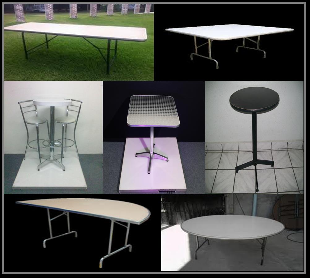 Modelos de mesas renta de mobiliario para banquetes for Modelos de mesas