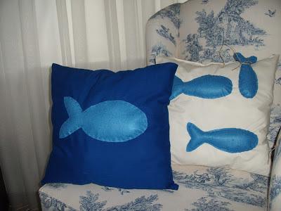 balıklı yastıklar