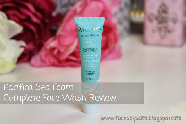 Pacifica Sea Foam Complete Face Wash Review