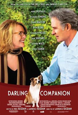 Cartel ¡Por fin solos! con Diane Keaton y Kevin Kline, de Lawrence Kasdan