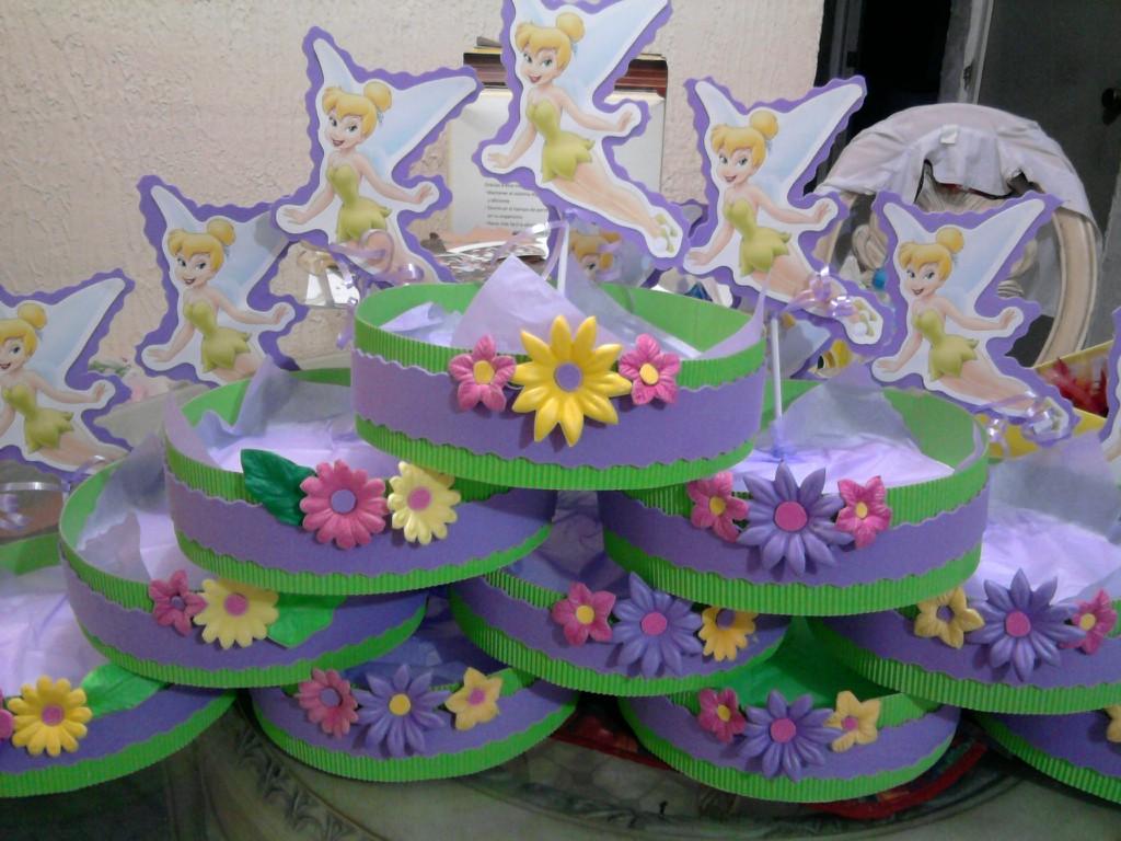 ... campanita centros de mesa fiestas infantiles tinkerbell miercoles 2 de