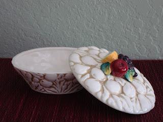 Iridescent Living vintage ceramic