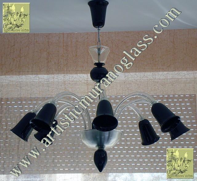 Artistic Murano Glass Chandelier Lampadario Moderno Di