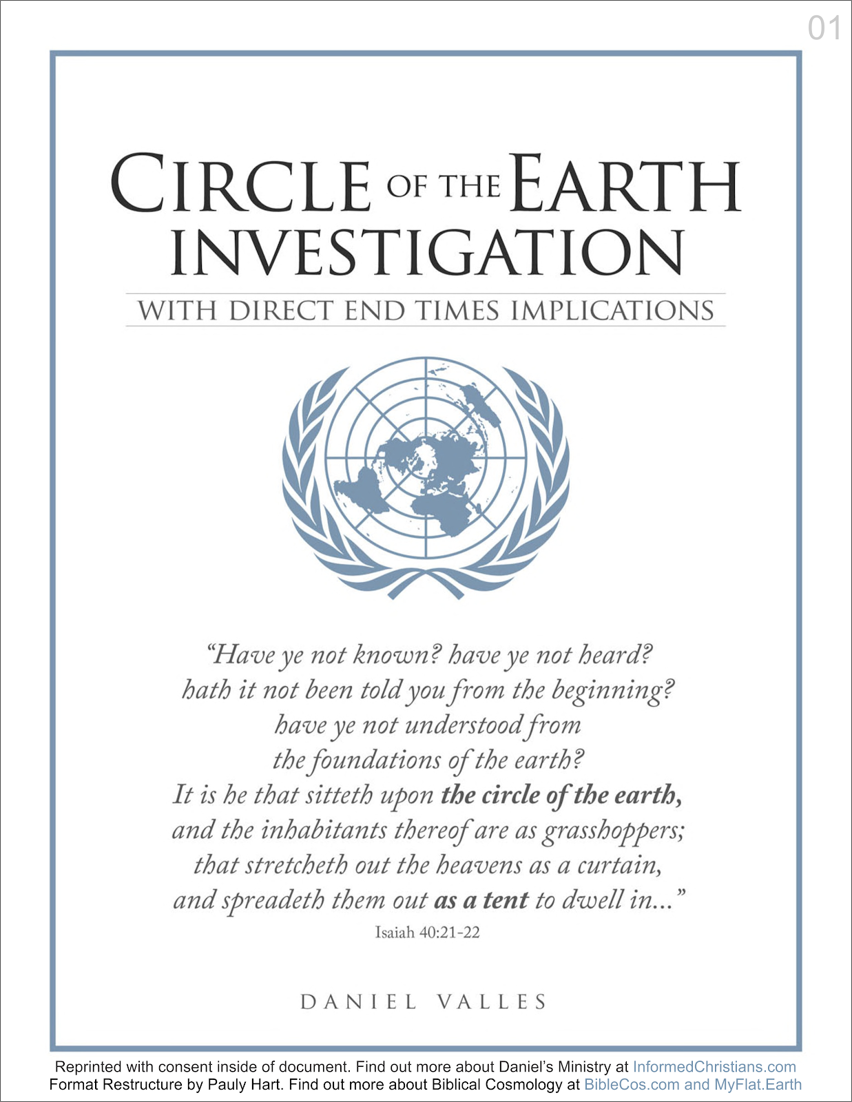 Circle of the Earth Investigation