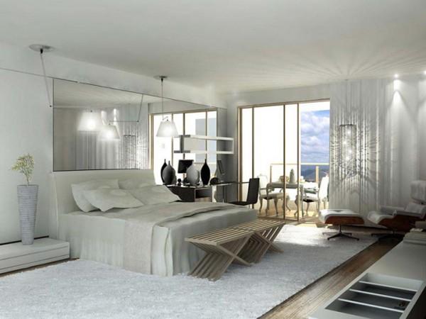 Fotos de habitaciones modernas dormitorios con estilo for Diseno de dormitorio blanco