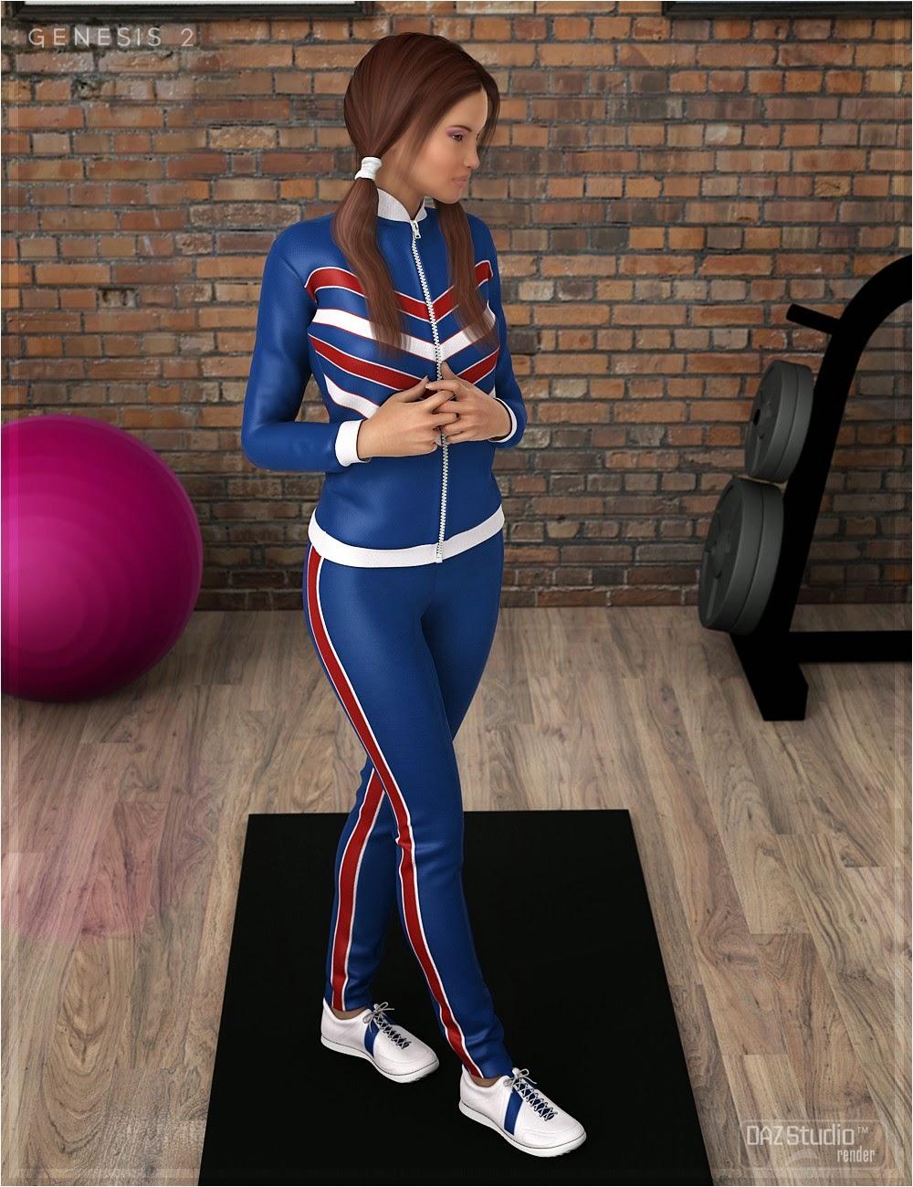 Textures de pré Workout Outfit