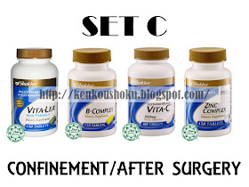 Set C (Confinement/After Surgery)