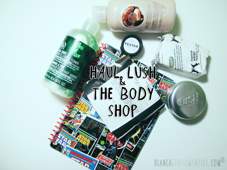Compras de Lush y the body shop
