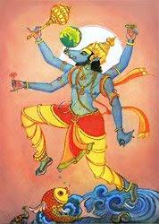 Picture of Varaha Avatar or Vishnu in Dasavatara - boar