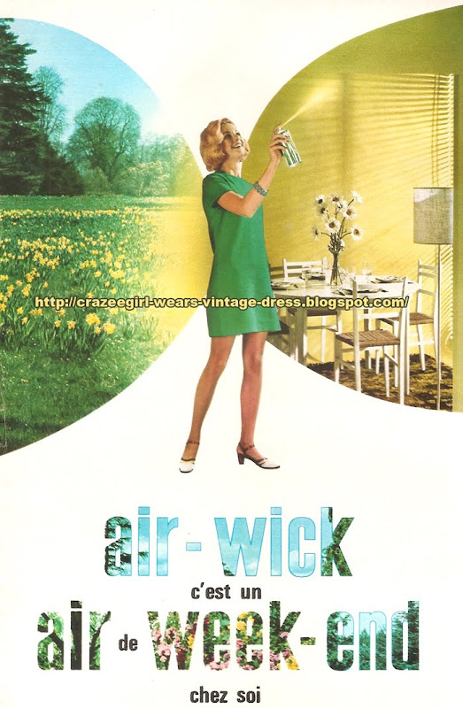 Air Wick advert - 1968 60s 1960