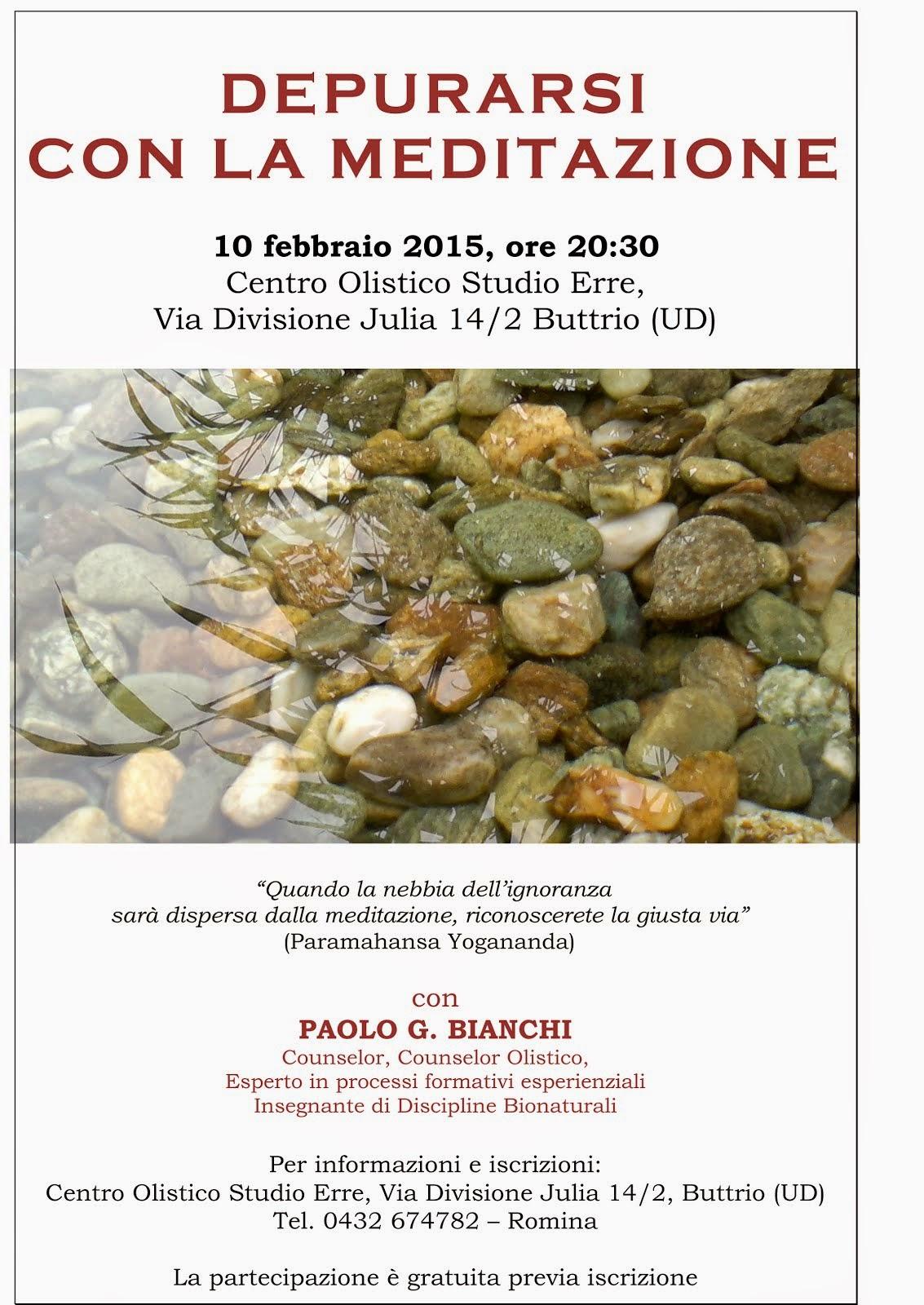 EVENTI: meditazione Febbraio a Buttrio (UD)