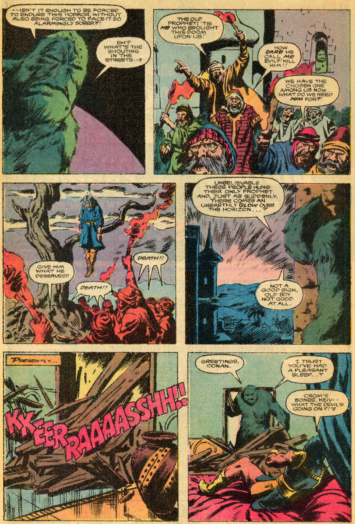 Conan the Barbarian (1970) Issue #179 #191 - English 18
