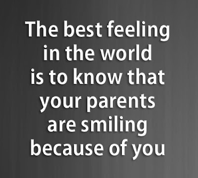 Daily Positive Quotes Parents Are Smiling Because Of You Gorgeous Parents Motivational Quotes