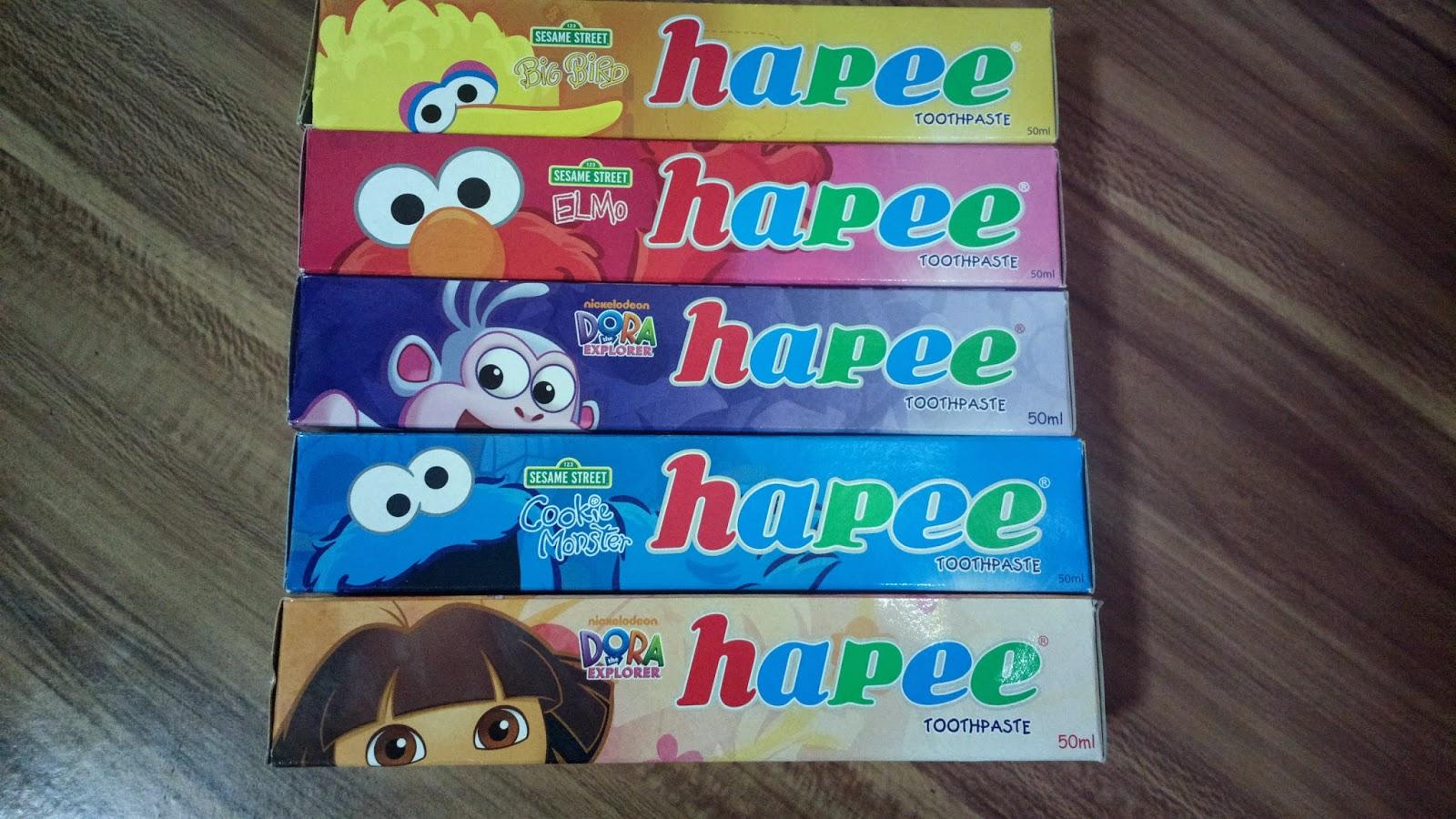 Hapee Kiddie Toothpaste