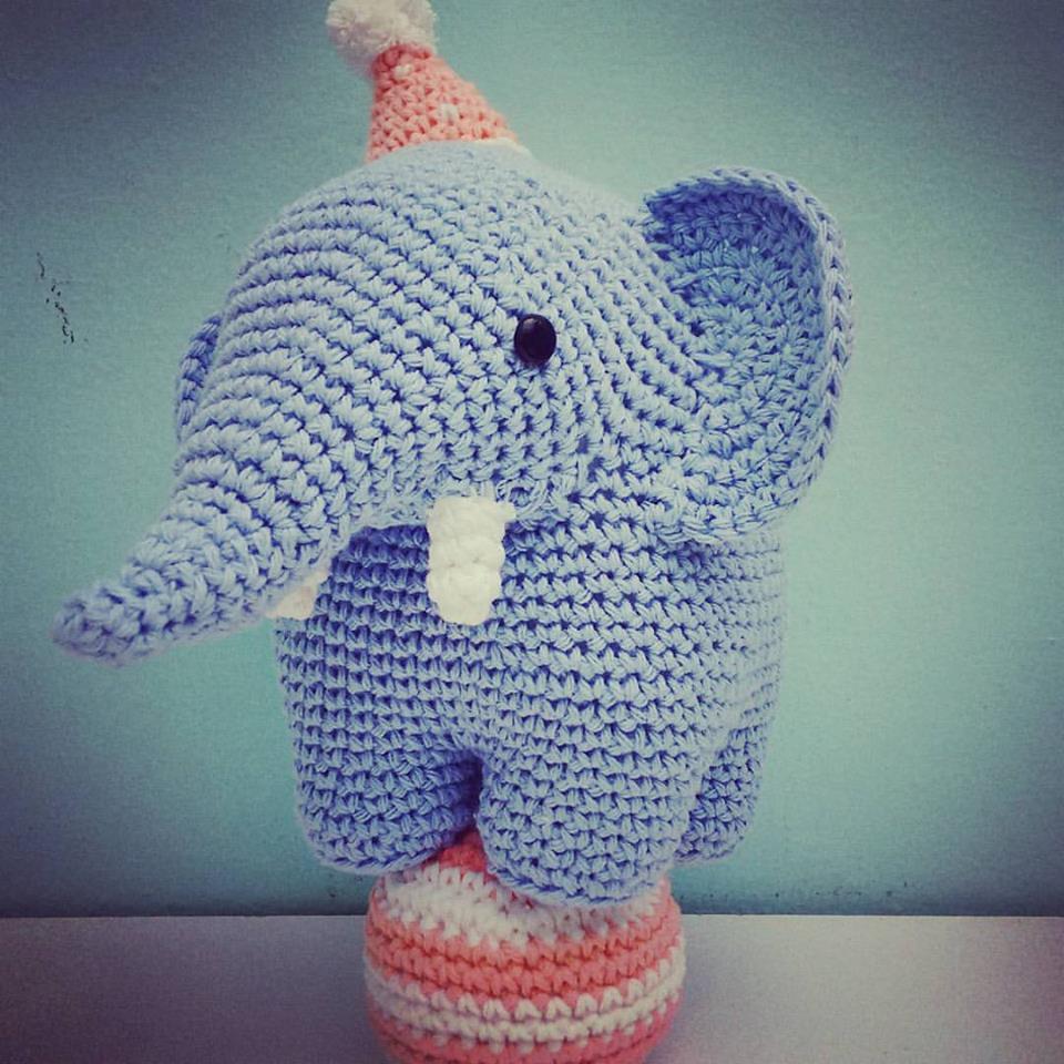 Elefantes amigurumis técnicas | Proyectos Artesanal
