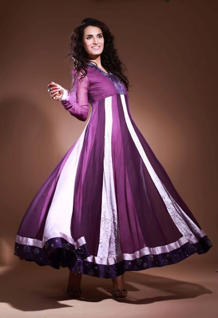 New Long Frocks Designs 2013, Latest Fashion in Pakistan