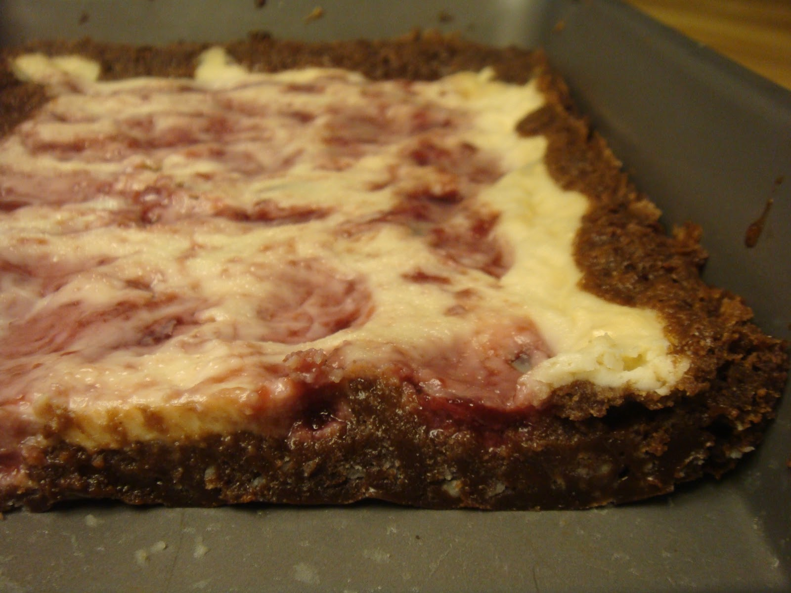 ... : Vegan, Gluten-Free Raspberry Cheesecake Brownies - Jan. 11, 2012