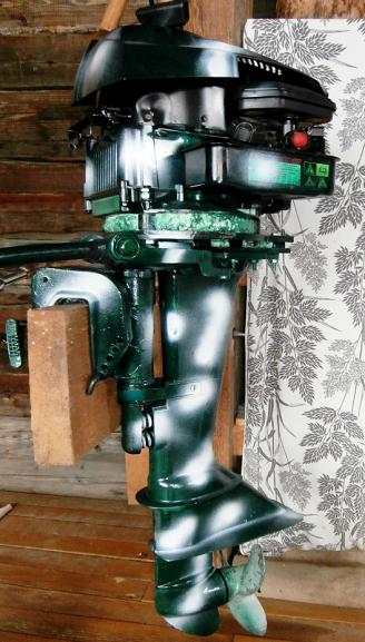 мотор лодочный с рук