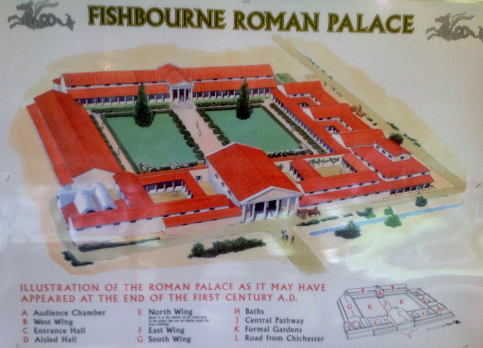 Fishbourne Roman Palace Floor Plan