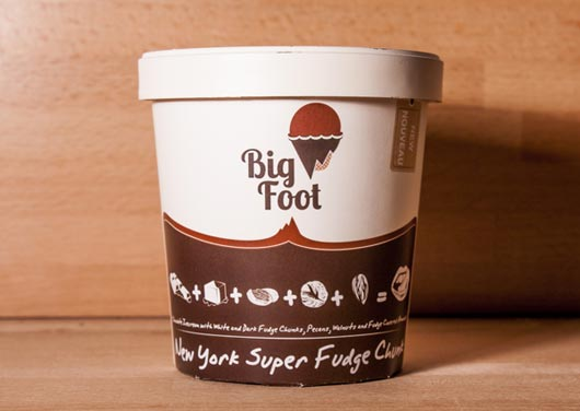 Image result for bigfoot tracks ice cream