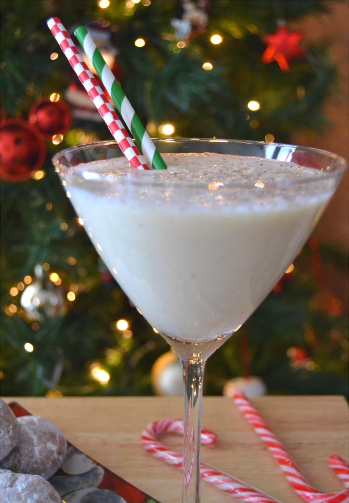 Eggnog Surprise Smoothie