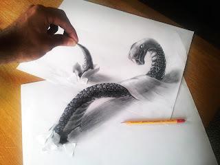 Dibujos 3d a Lapiz