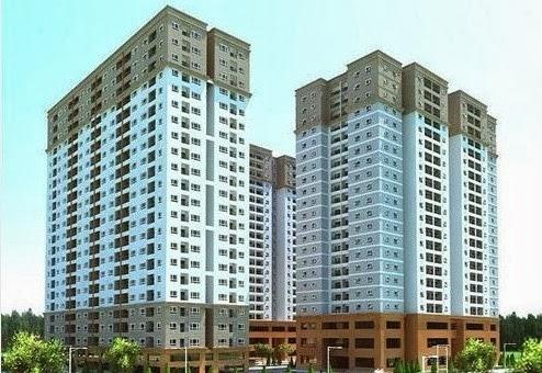Phối cảnh căn hộ chung cư Tân Phước