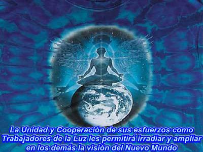 Sólo a través de la cooperación mutua podrán ampliar la visión del Nuevo Mundo.