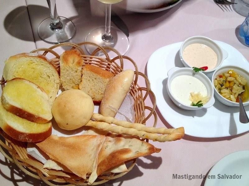 Marfino Restaurante: Couvert
