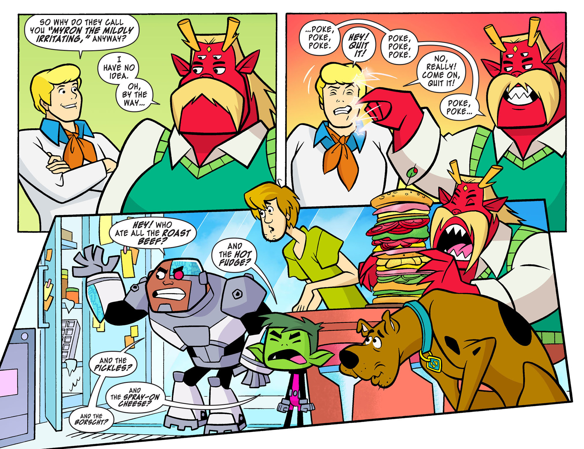 Read online Scooby-Doo! Team-Up comic -  Issue #8 - 7