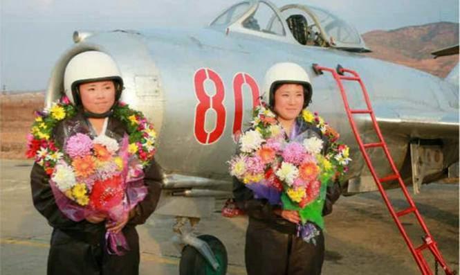 pilot wanita korea utara