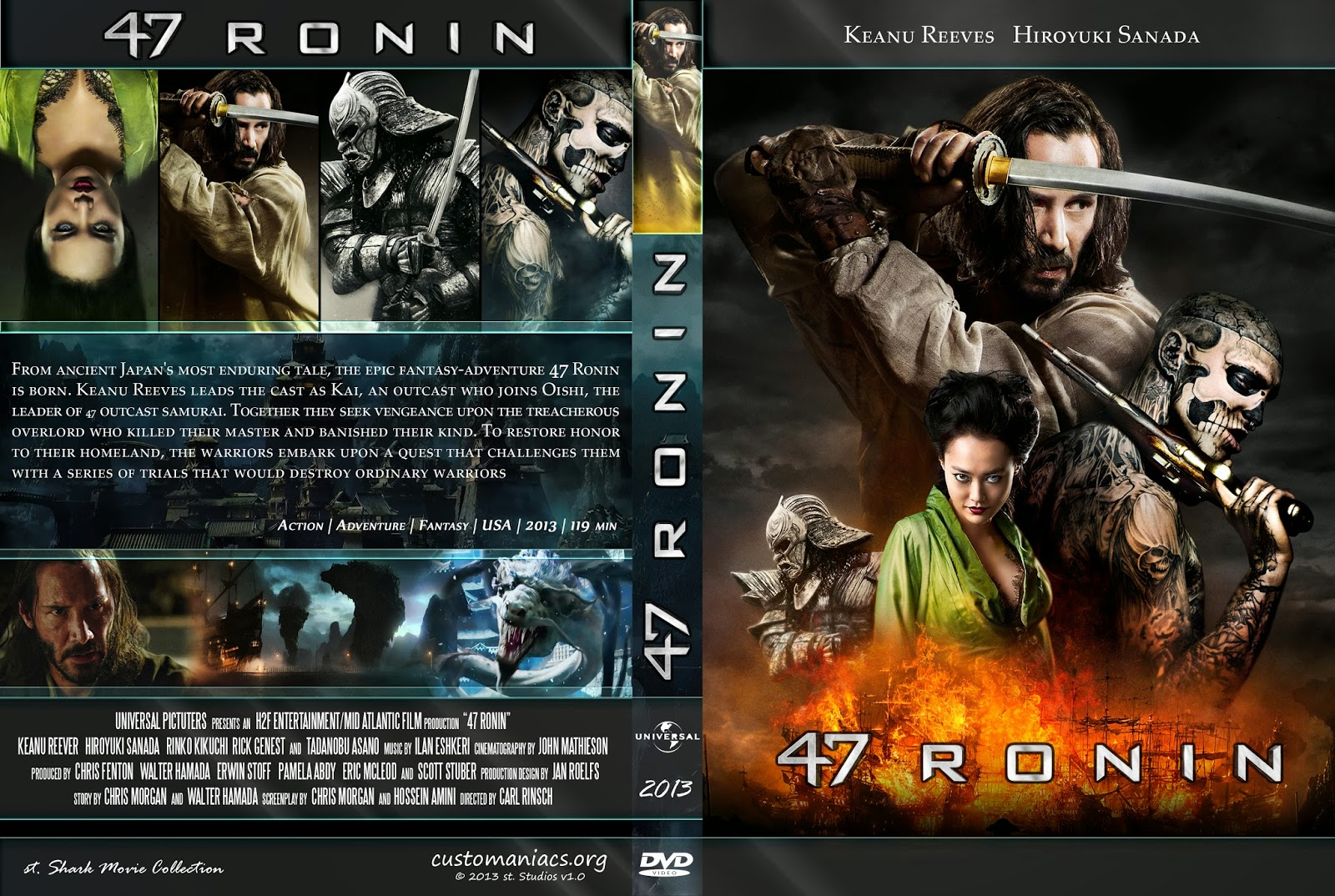 47 Ronin DVD COVER