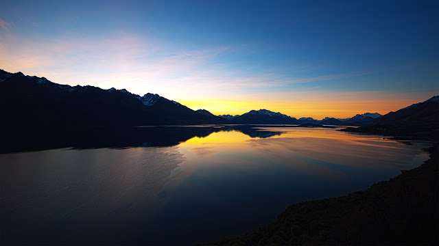New Zealand Sunset HD Wallpaper