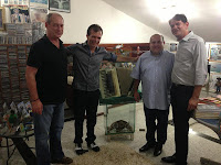 Ciro Gomes, Waldonys, Roberto Cláudio e Cid Gomes
