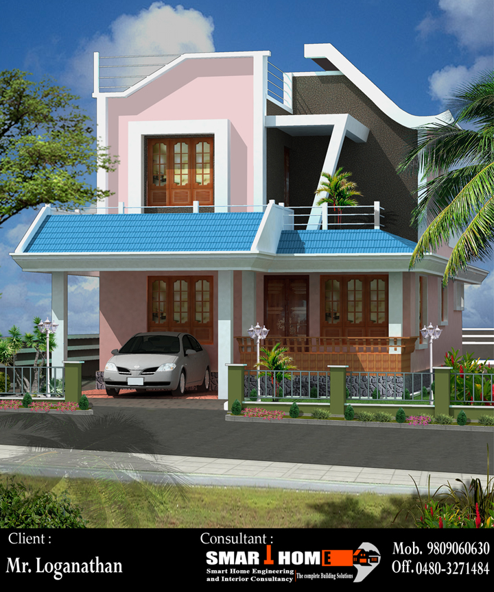 Design work they have send New House plan to Indian Home design