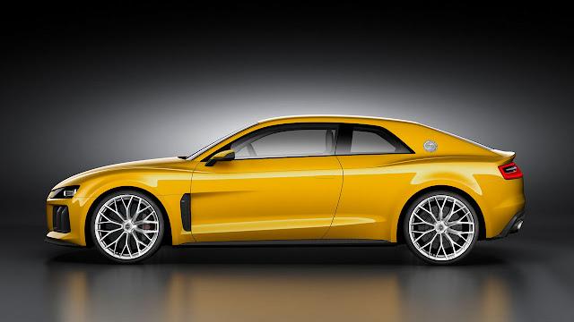 Audi Sport Quattro Concept side