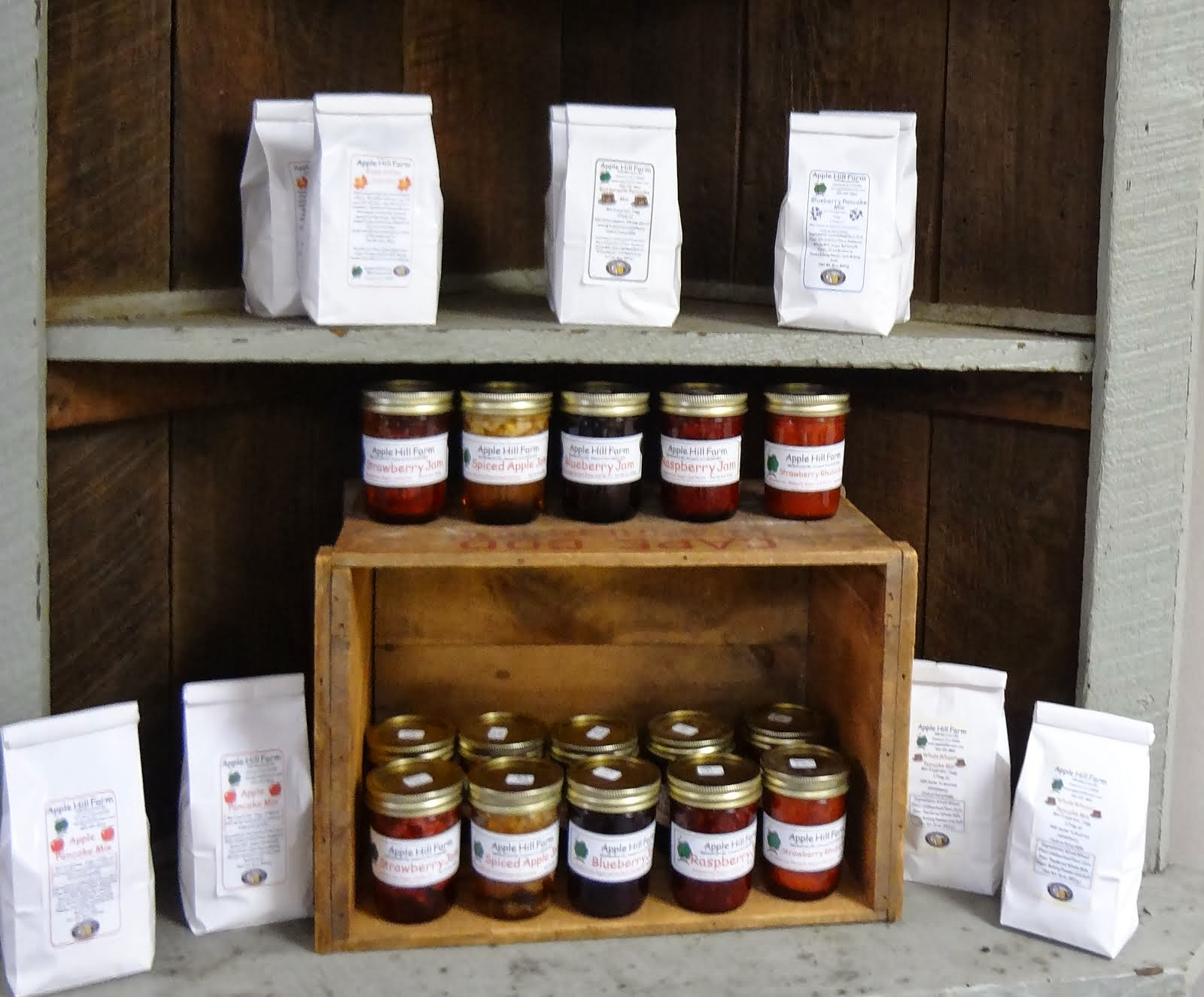 Apple Hill Farm Jams & Pancake Mixes