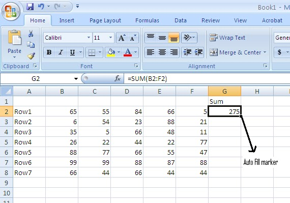 Free Excel Tutorial submited images.