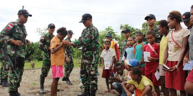 Tentara tugas di Papua harus belajar spiritual selama 15 tahun