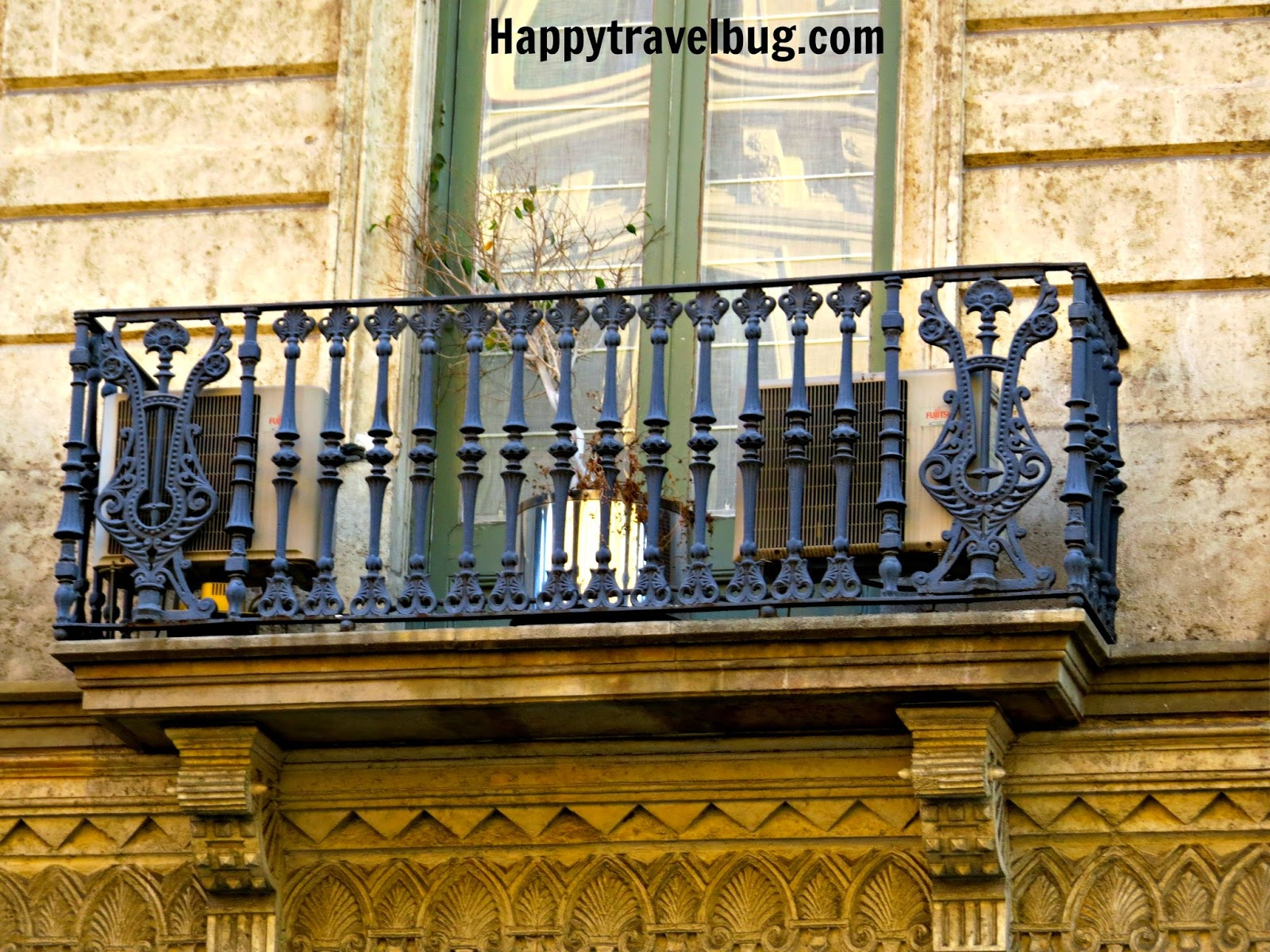 Barcelona, Spain balcony
