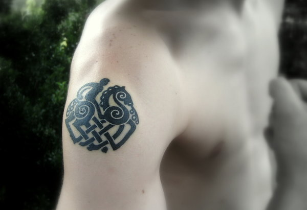 Neo Polytheist Germanic Pagan Tattoos Vikings Tattoos - 600×411