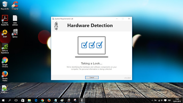 Hardware detection windows 10